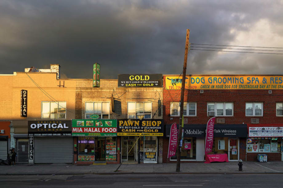 Pawn Shop, Ozone Park, New York, 2013 from the series Does Yellow Run Forever? by Paul Graham