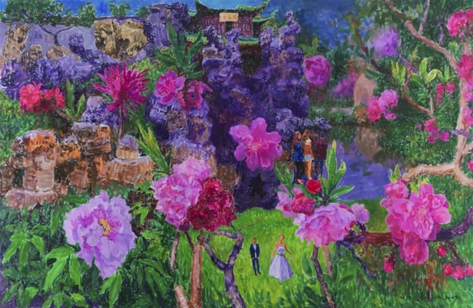 Misty Flowery March by Zhou Chunya