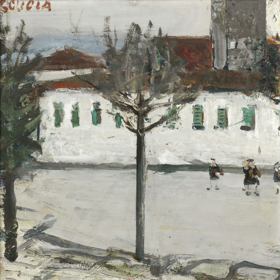 Scuola by Willy (Varlin) Guggenheim
