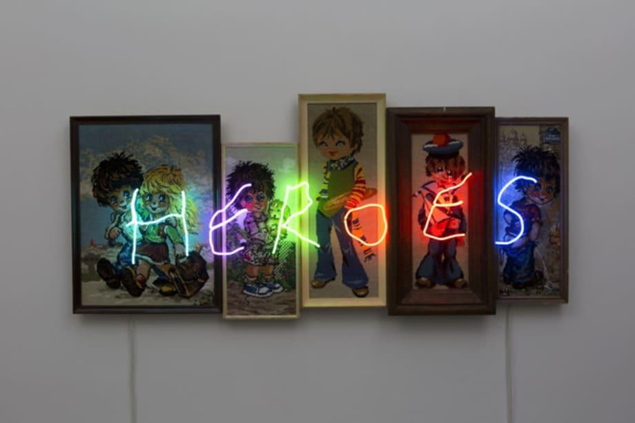 Heroes by Claude Lévêque
