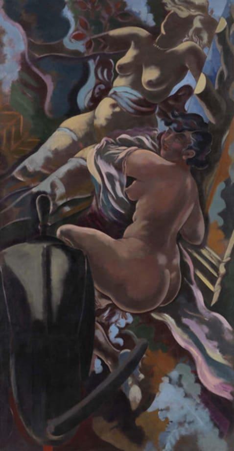 Two Women by George Grosz