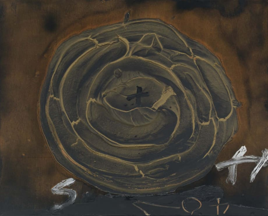 Serpent by Antoni Tàpies