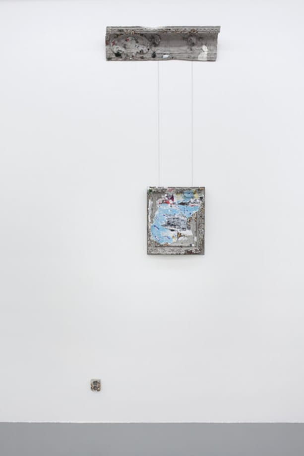 Berliner Stuck (Doppelsteckdose) by Simon Fujiwara