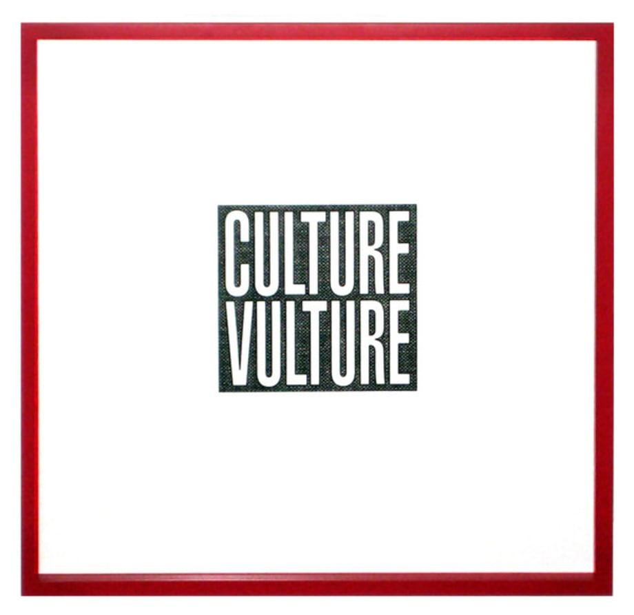 Culture Vulture by Barbara Kruger