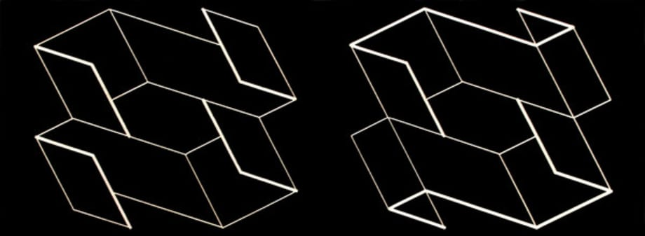 Duo H by Josef Albers