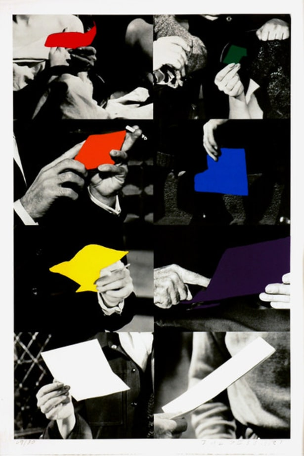 Two Unfinished Letters by John Baldessari