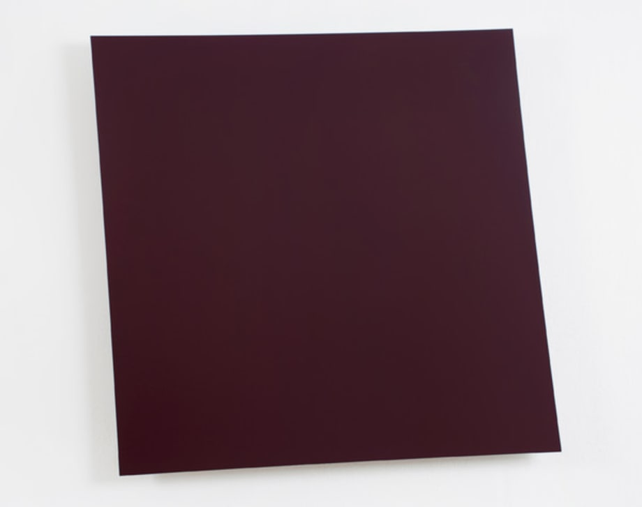 Dark Red-Violet Panel by Ellsworth Kelly