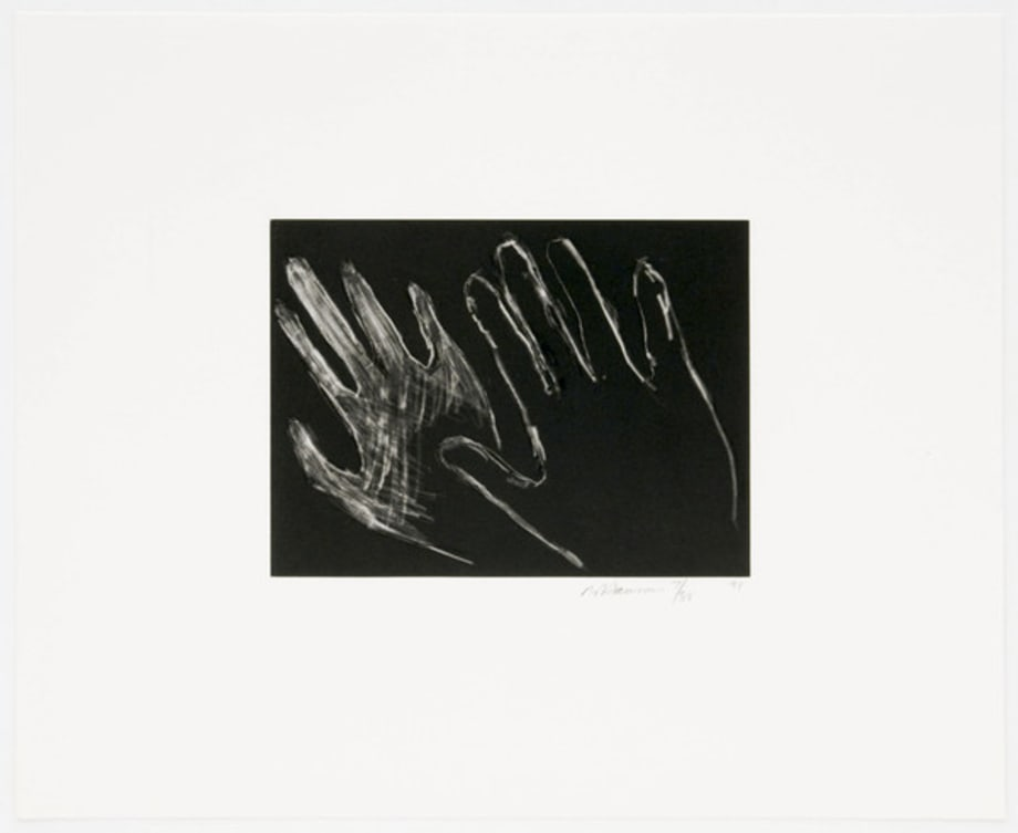 Untitled (Hands) by Bruce Nauman