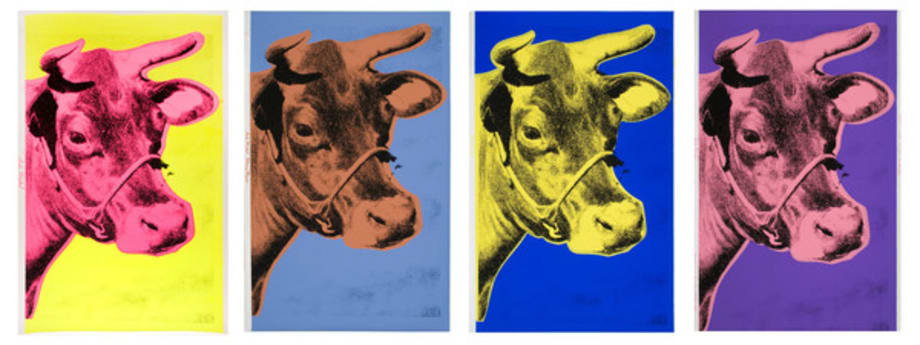 Cows by Andy Warhol