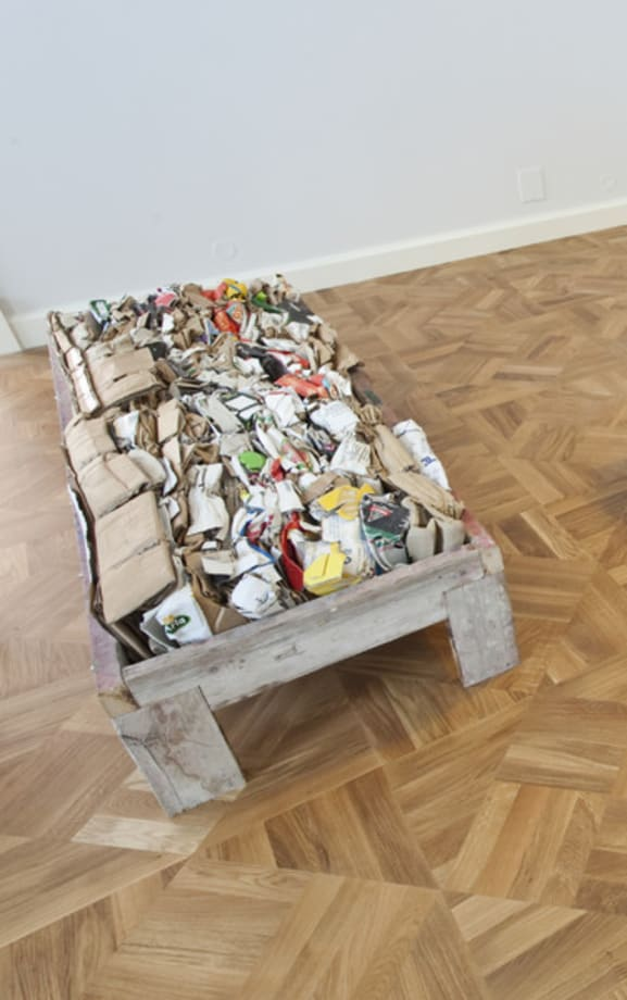 Untitled (bench) by Klara Lidén