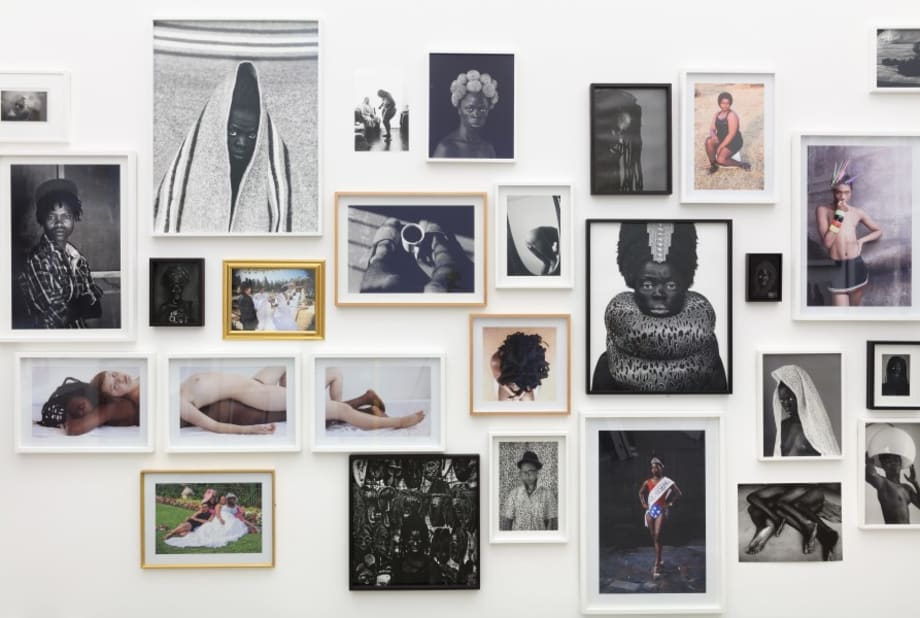 Installation view, 'Both, And' group exhibition by Zanele Muholi