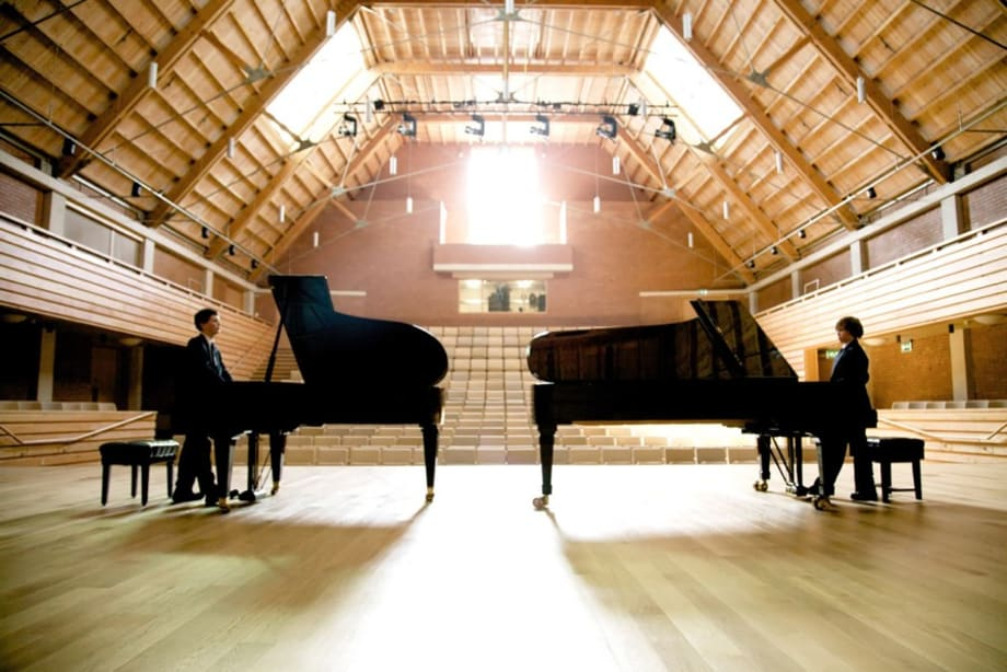 Composition for two Pianos and an Empty Concert Hall by Oliver Beer