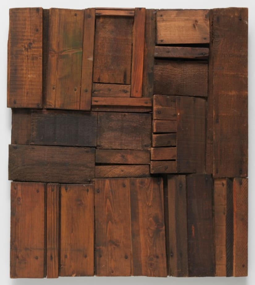 Wood Picture by Mildred Thompson