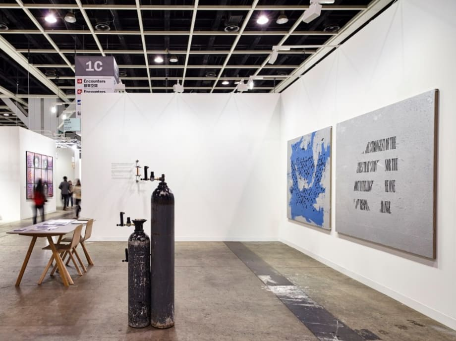 Installation view by Sean Raspet