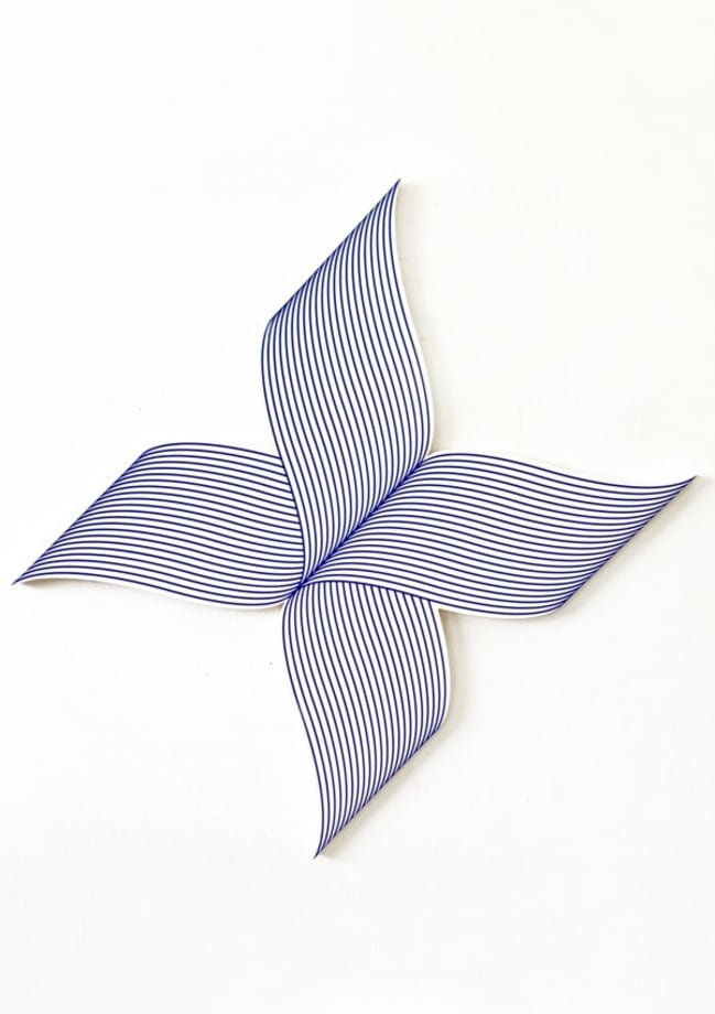 X Wave by Philippe Decrauzat