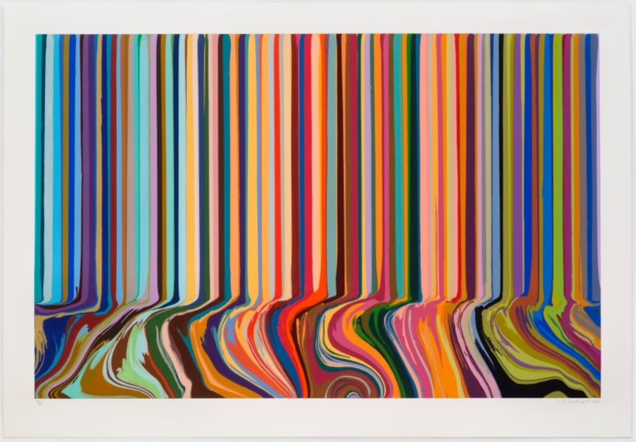 Colourcade Buzz by Ian Davenport