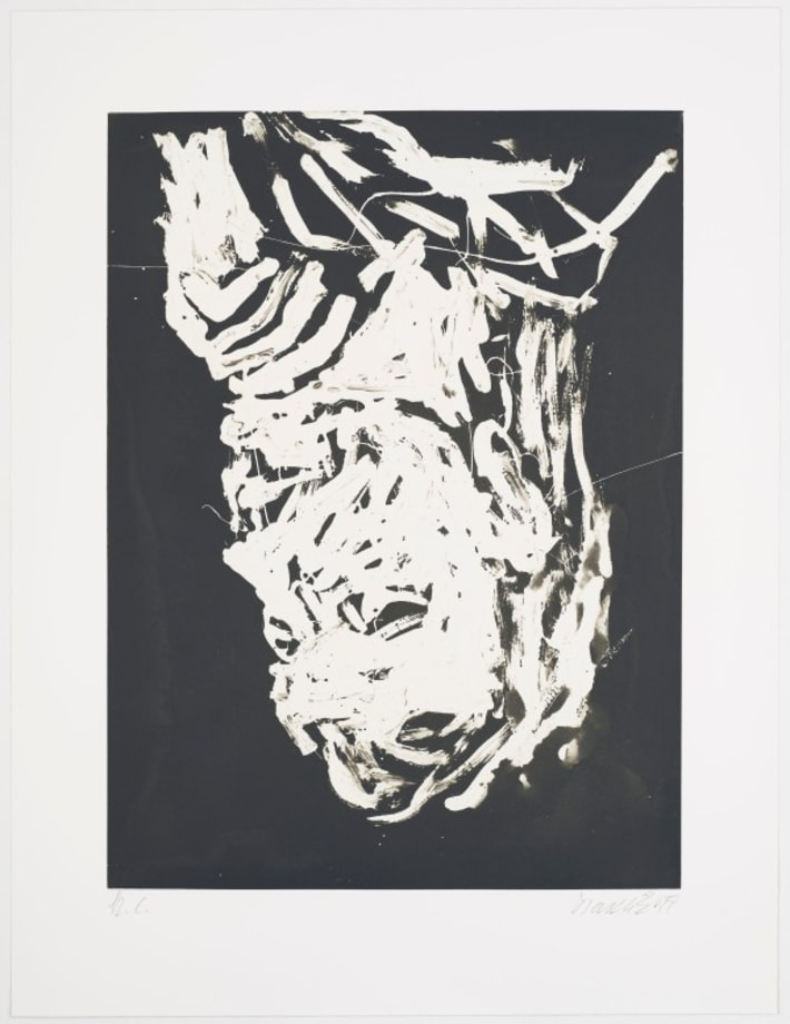Elke I by Georg Baselitz
