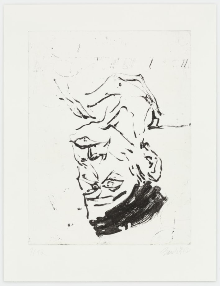 Heckel II by Georg Baselitz