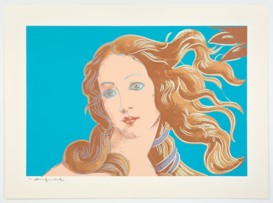Sandro Botticelli, Birth of Venus, 1482 III by Andy Warhol