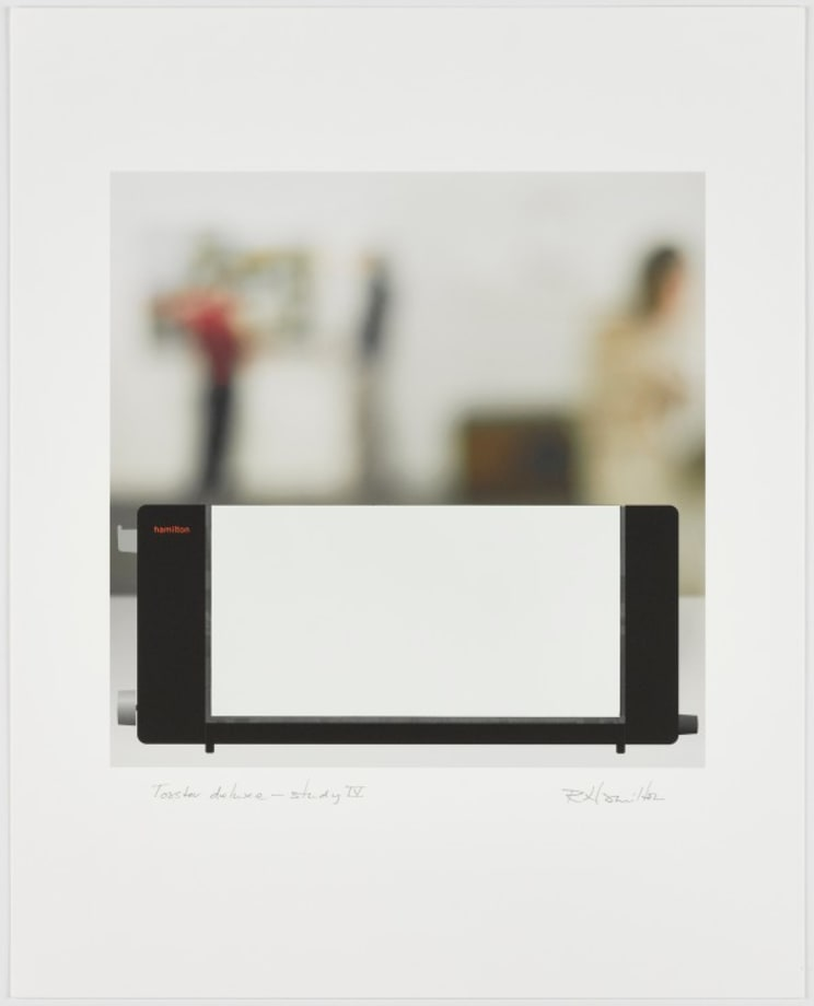 Toaster: Deluxe Study IV by Richard Hamilton