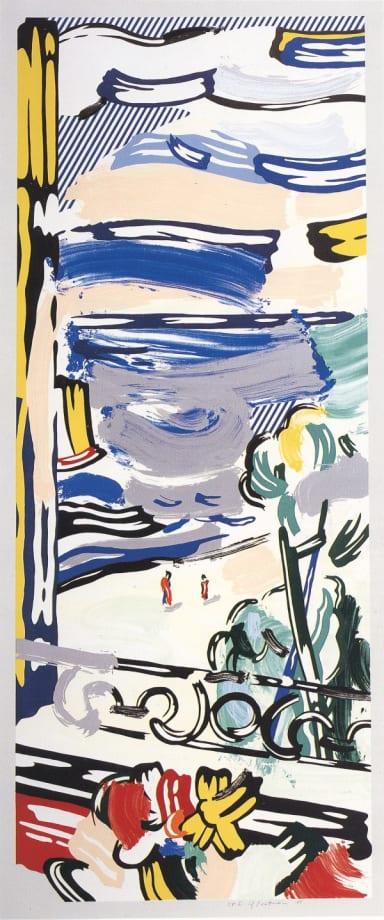 View from the window by Roy Lichtenstein