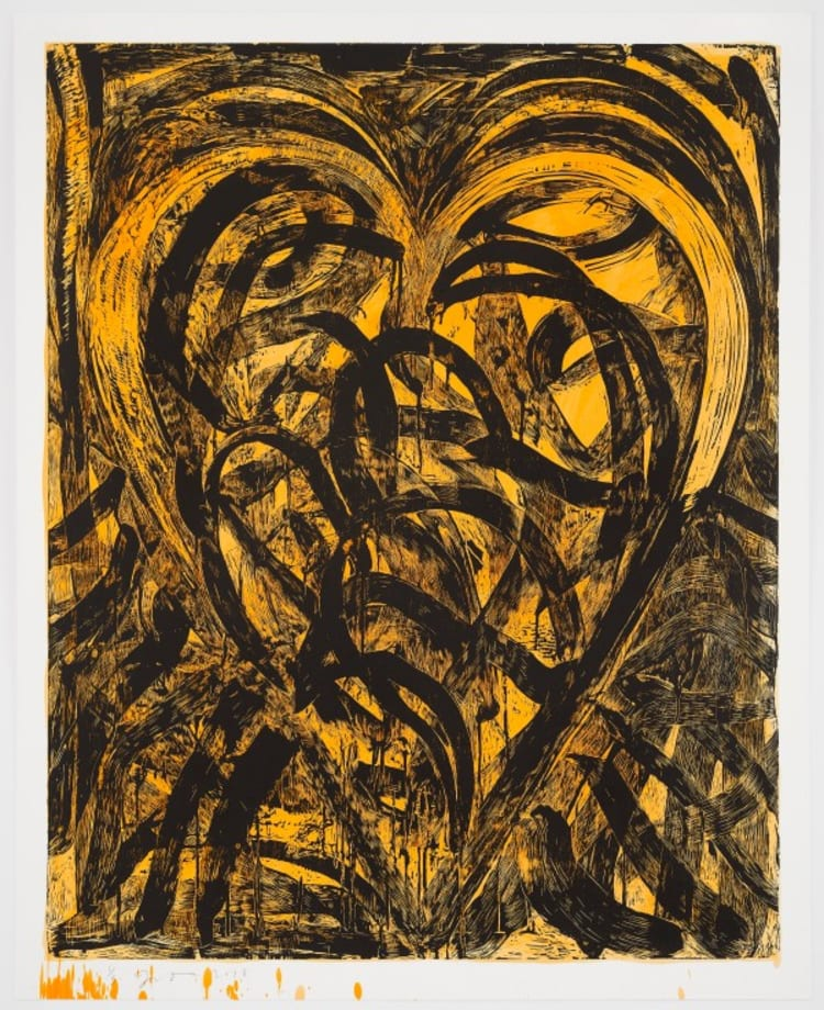 Work it for the Pleasure by Jim Dine