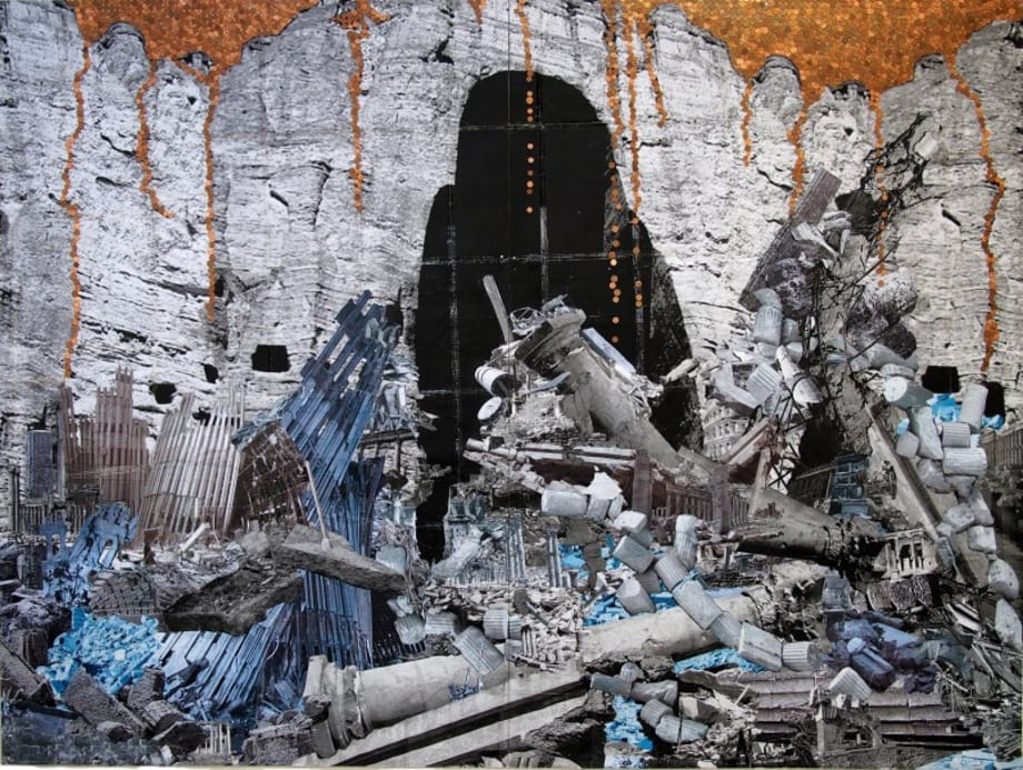 It is now in Ruins by Thomas Hirschhorn