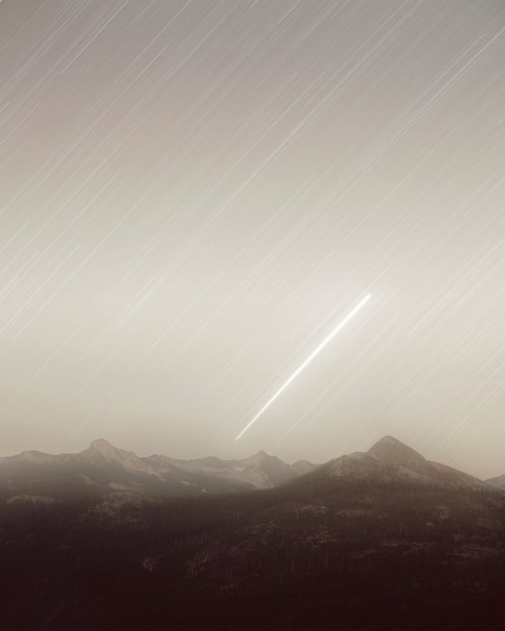 MILSTAR 6 from Glacier Point (Strategic and Tactical Relay Satellite; USA 169) by Trevor Paglen