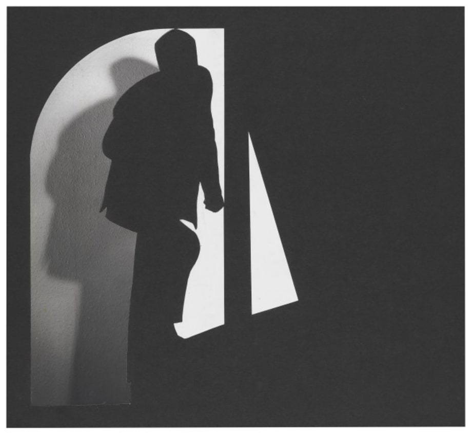 (The ultra-thin) Man Ascending by John Stezaker