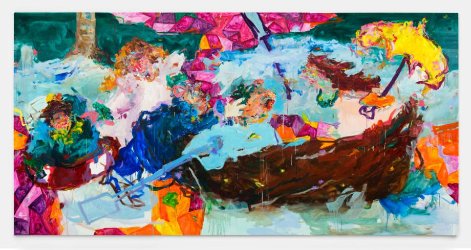 Le Parapluie jaune by Miryam Haddad