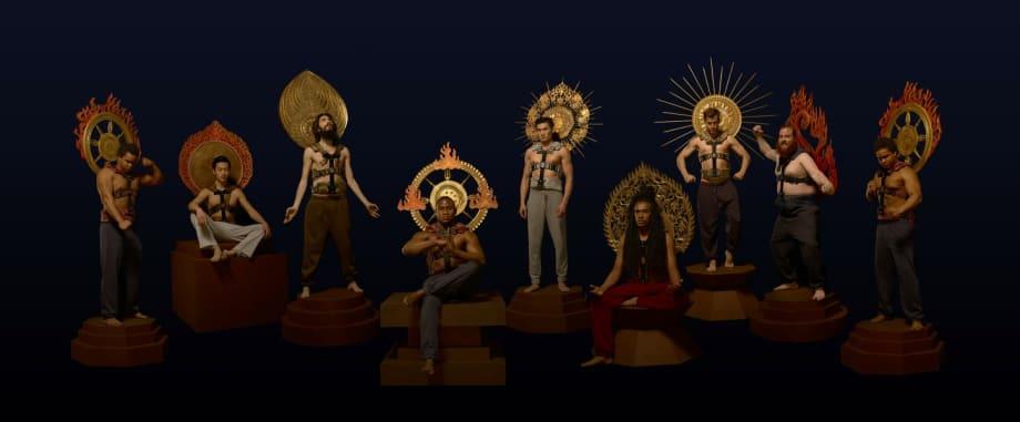 Moving Gods Character Set by Lu Yang