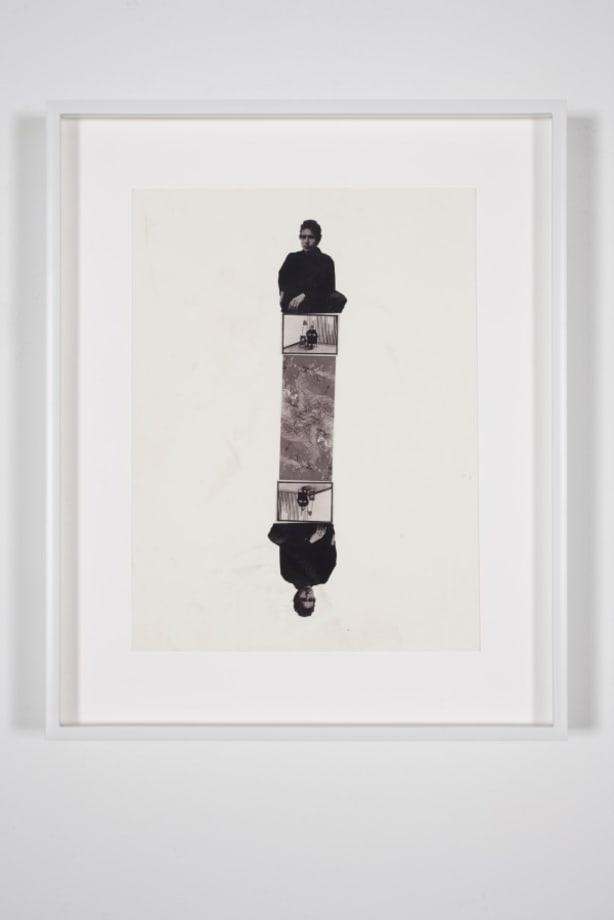 Bob Dylan, Bas Jan Ader, Smaug Mirrored Totem (b&w)3 by Richard Aldrich