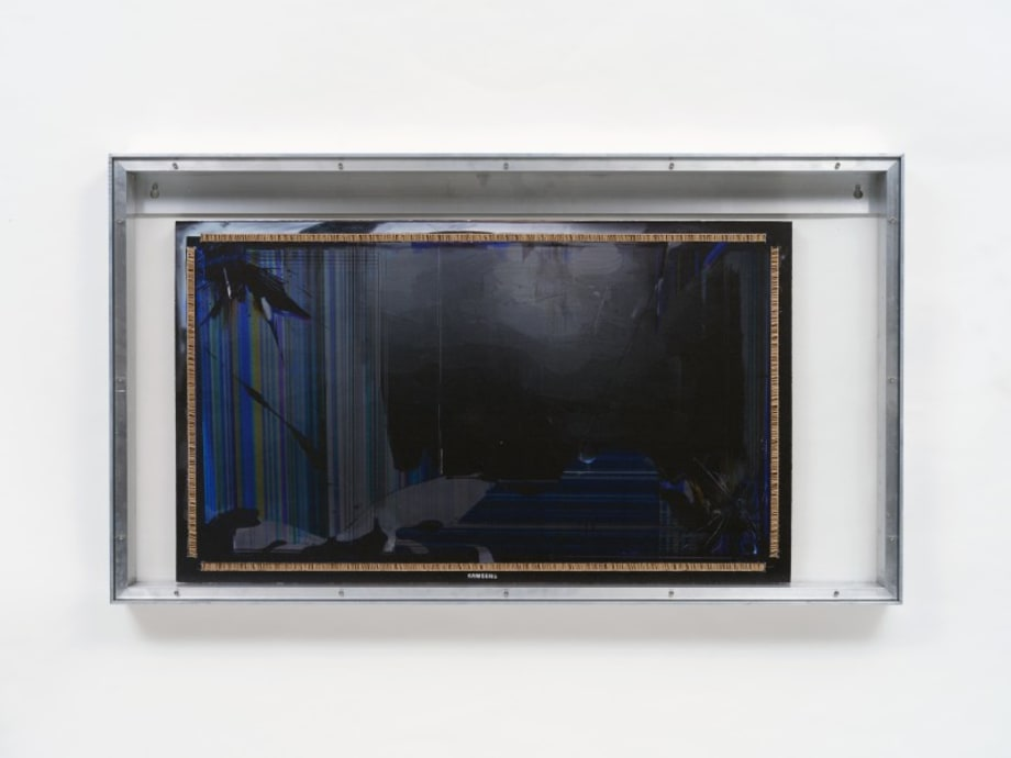 """Extractor screen 1"" by Simon Denny"