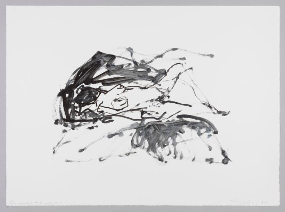 She Wanted to be with You by Tracey Emin