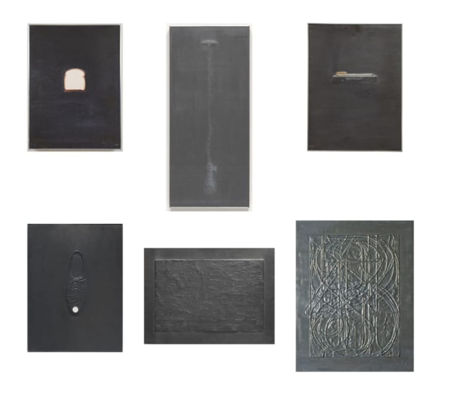The complete Lead Relief series by Jasper Johns