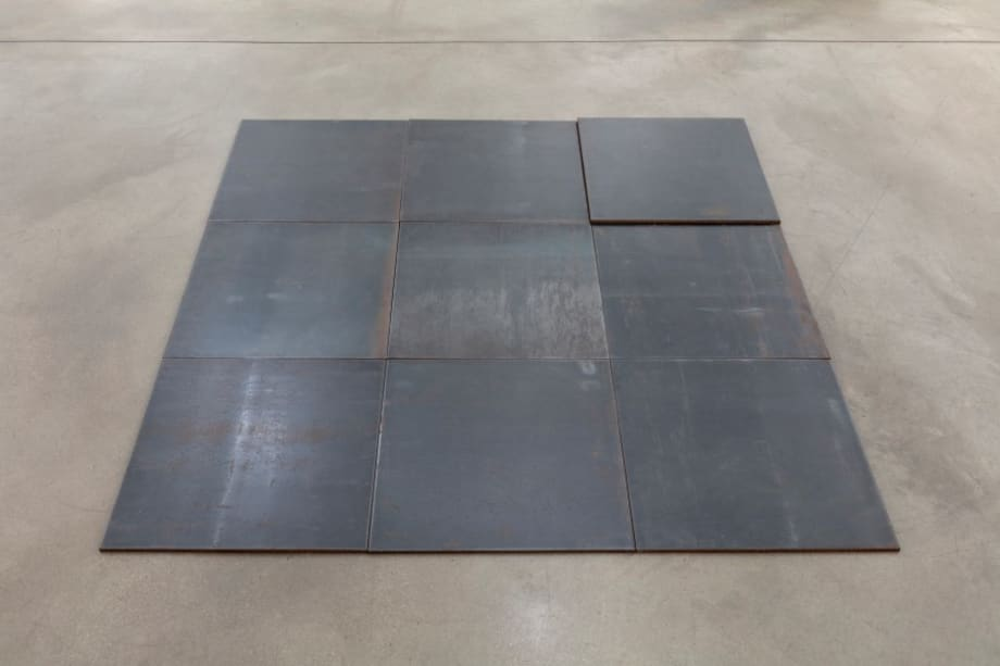 North-East Deck by Carl Andre
