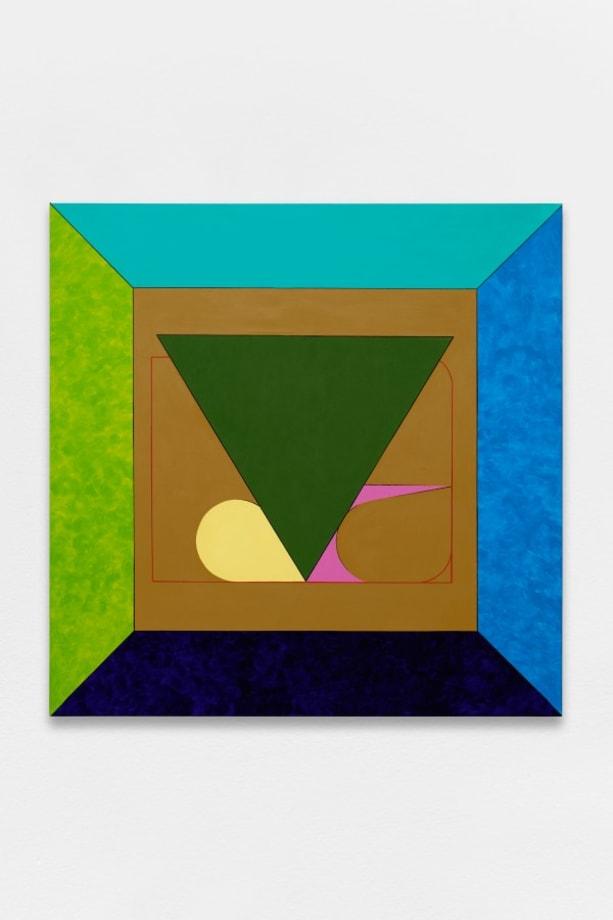 The Triangle by Ad Minoliti