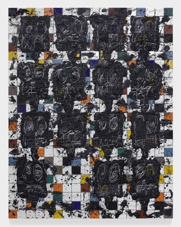 Color Men by Rashid Johnson