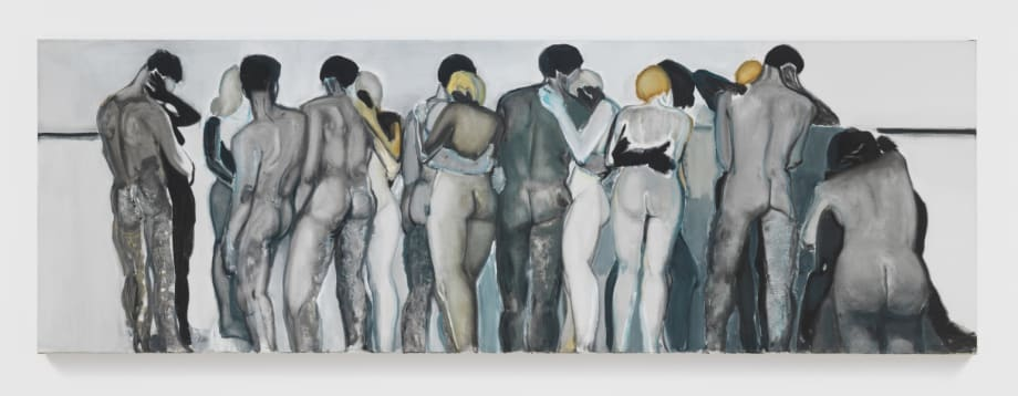 Love your neighbor by Marlene Dumas