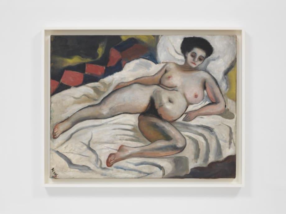 Nadya Nude by Alice Neel