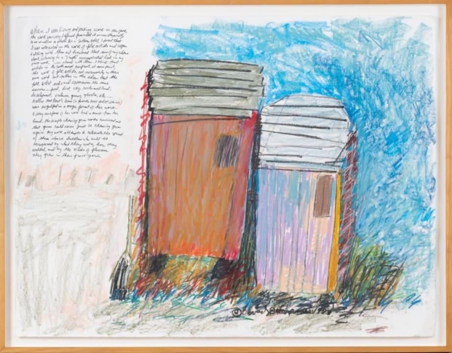 Blue Sky Shack by Beverly Buchanan (1940-2015)