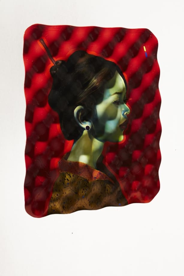 Untitled (Chinese woman) by Giulio Frigo