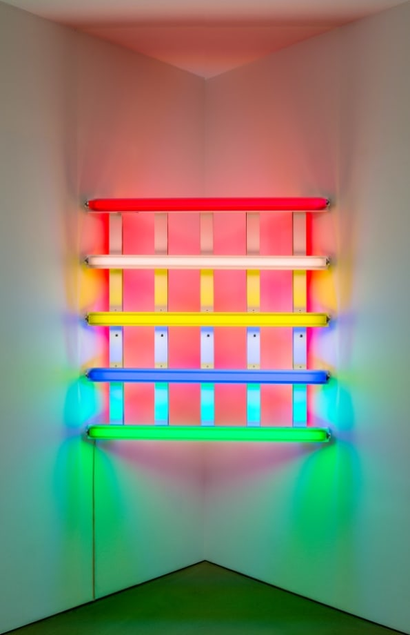Untitled (In honor of Leo Castelli at the thirtieth anniversary of his gallery) by Dan Flavin