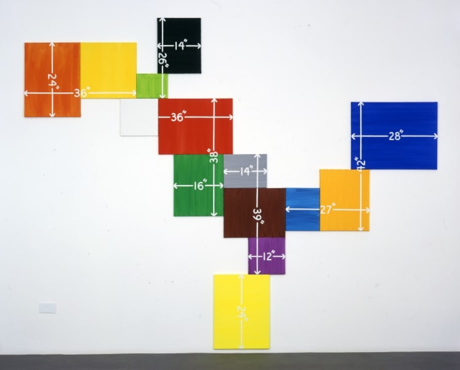 Either/If/Or/Both (And) by Mel Bochner