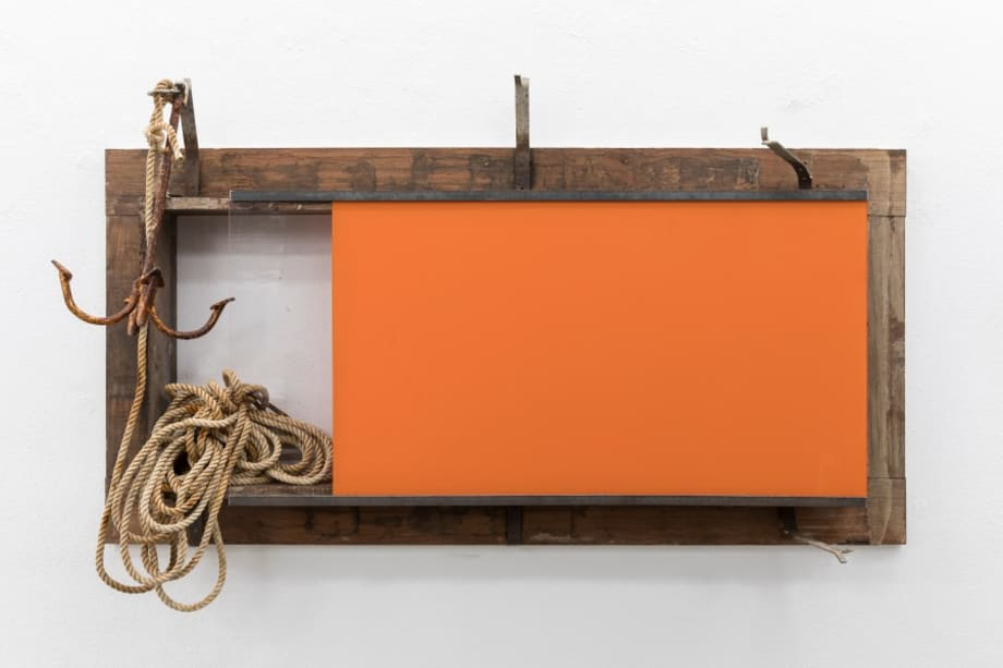 Still Life with anchor and rope by Pedro Cabrita Reis