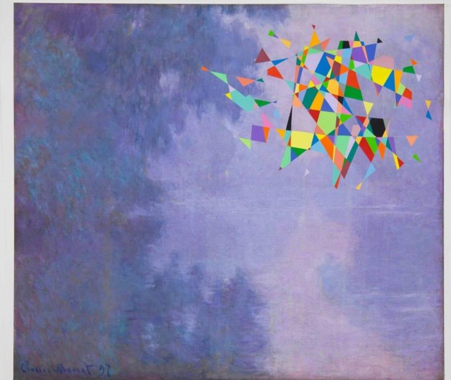 Untitled (Color Monet) by Tom Friedman