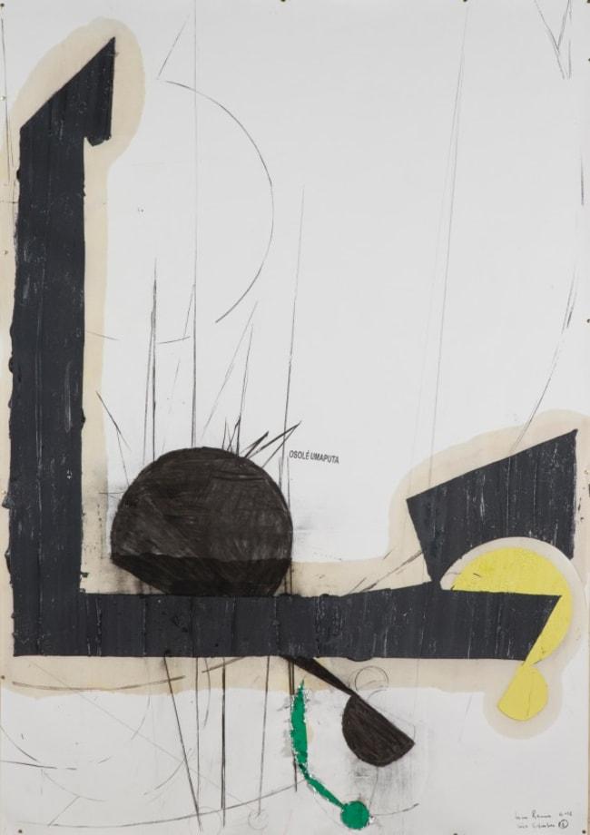 Série Schreber 26 - O Sol é uma Puta (Sol, Faraó, Mariposa) by Nuno Ramos