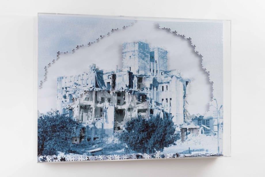 Puzzle Hospital by Carlos Garaicoa