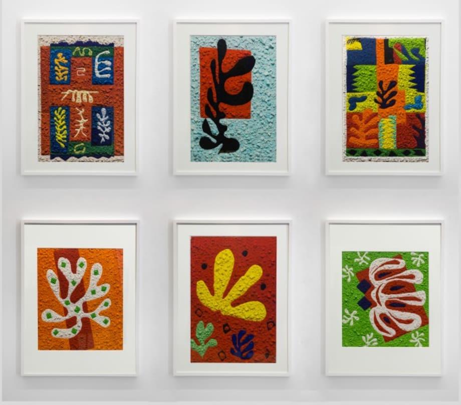 Metachrome: Cut-outs after Henri Matisse Portfolio by Vik Muniz