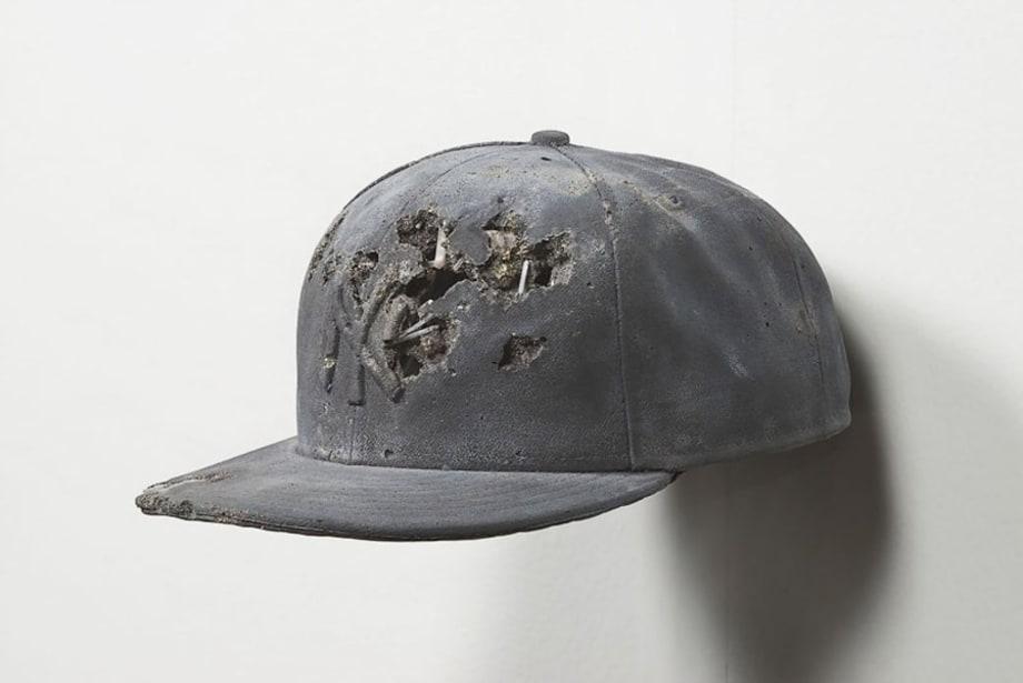 Pyrite Yankees Hat by Daniel Arsham